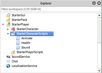 Roblox Studio Sound Script Creating A Custom Character