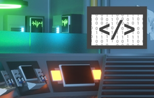 picture of a computer lab for intro to lua coding for Roblox