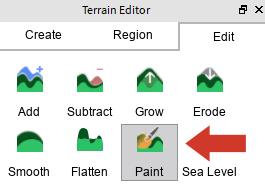 Using Terrain Tools